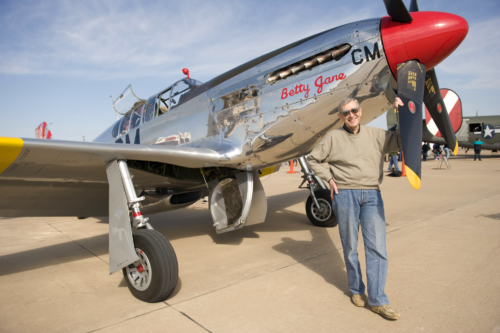 Del with Betty Jane