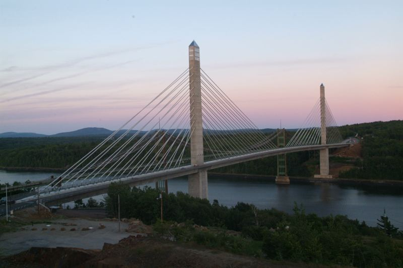 Penobscot Narrows Bridge at Bucksport