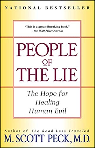 Cover of Scott Peck book People of  the Lie